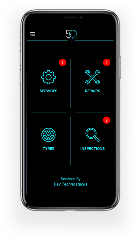Mechanic Shop Software Customer App